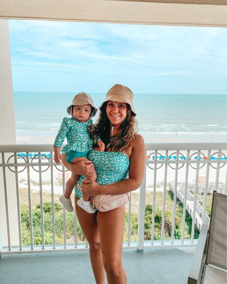 Mommin' round with my mini per usual 🥰 Target finally dropped these and more matching family swimmies online! We snagged ours at our local store before vacay. Shop our entire matching looks in the @liketoknow.it app or link in my bio. http://liketk.it/3jSfh #liketkit @liketoknow.it.family   #LTKtravel #LTKfamily 🏖🌊 #onepieceswimsuit #onepiece #targetstyle #twinningwithmommy #mommyandme #babyswimsuit #momstyle #buckethat #matchingfamily #realmomstyle #petiteblogger #mommyblogger #beachvacation #travelstyle #targetaddict #twinning   #mamaandme #targetfinds #toddler #LTKswim #familymatching #myrtlebeach #beachin #familyvacay #momfashion #ltkunder50  #matchingoutfits #beachoutfit
