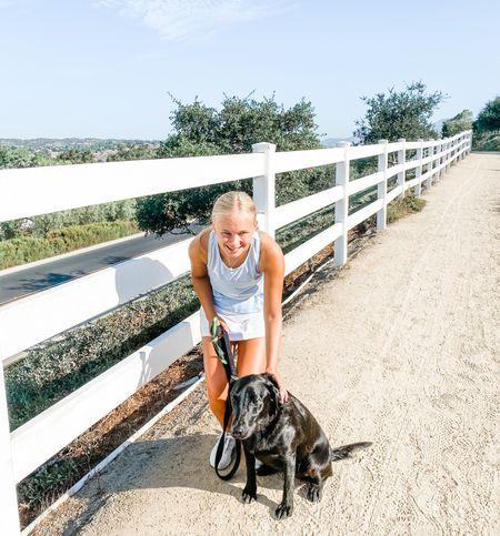 Sunday morning walks with my pup!   #LTKfit