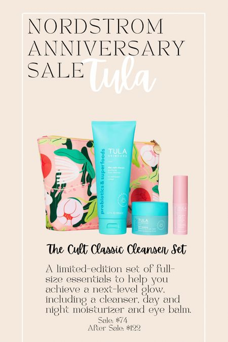 Tula starter kit on great sale at the Nordstrom anniversary sale!