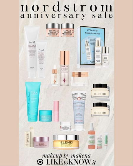 Shop my skincare favorites – including these produced from Charlotte Tilbury and Elemis –during the Nordstrom Anniversary Sale now through August 8. #nsale  #LTKunder100 #LTKsalealert #LTKbeauty