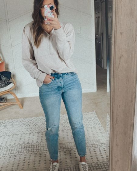 Old navy jeans 50% off today! Less than $30 wearing size 6 http://liketk.it/38gVT #liketkit #LTKunder50 @liketoknow.it