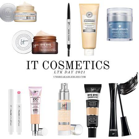 Skincare and makeup picks from It Cosmetics, part of the LTK Day Sale! @liketoknow.it #liketkit #LTKDay #LTKsalealert #LTKbeauty http://liketk.it/3h5sq