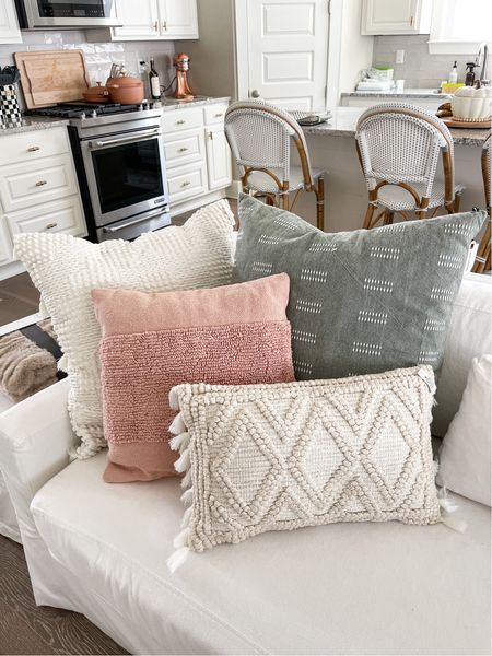 Fall living room decor! I updated my living room with some fresh target pillows and pumpkin decor! #holidaydecor #falldecor #pumpkindecor #targetfinds #throwpillows #fallpillows #homedecor #livingroom    #LTKunder100 #LTKhome #LTKHoliday