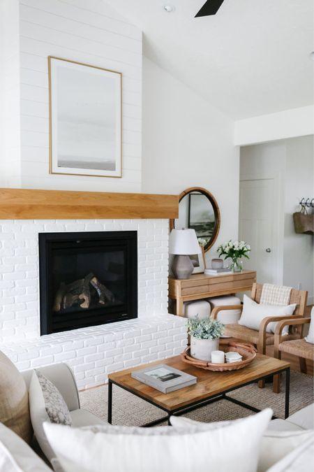 Living room decor inspiration. Coffee table decor. Console table decor.    #LTKstyletip #LTKhome #LTKunder100