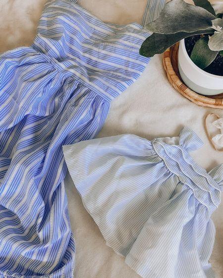 http://liketk.it/3hWiX #liketkit @liketoknow.it #LTKbaby #LTKbeauty #LTKunder100   Loving blue dresses for this summer!