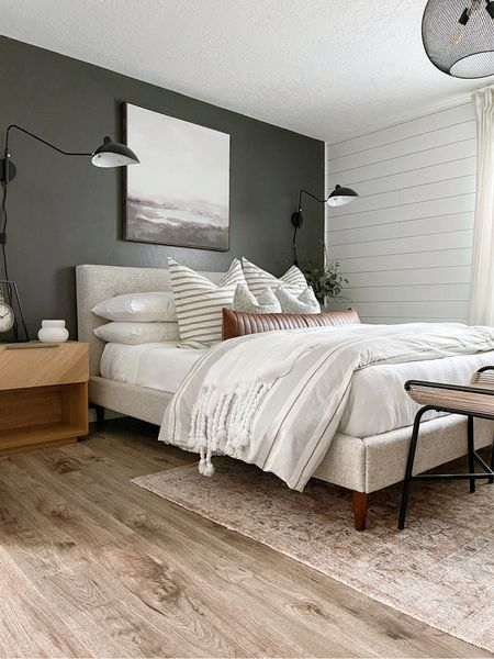 Modern Farmhouse Style Guest Room Makeover!   #LTKunder50 #LTKhome #LTKunder100