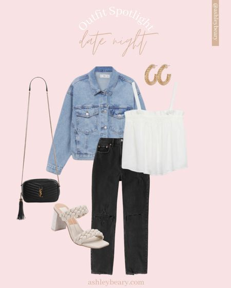 Looking for the perfect date night outfit!? From summer to the transition of Fall this outfit is a closet staple!   #LTKstyletip #LTKunder100 #LTKunder50