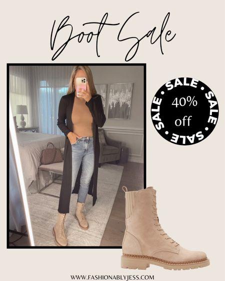 Loving these boots for fall  Combat boots, boots, fall boots   #LTKshoecrush #LTKsalealert #LTKstyletip