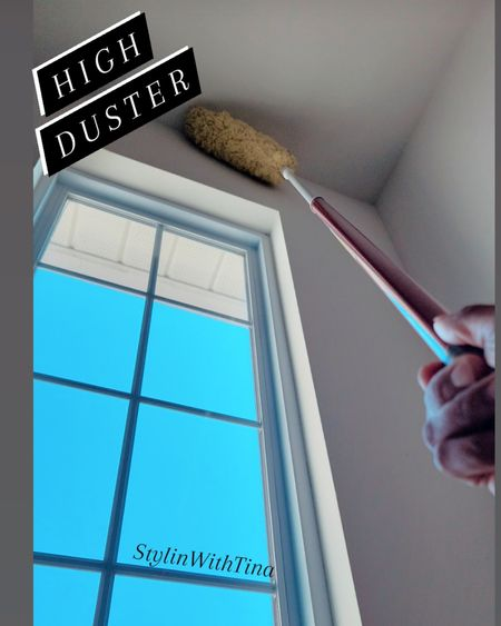Microfiber high duster, great for cleaning low and high ceilings around your home. #cleaningtools#cleaning#highduster #duster#ltkhome #LTKsalealert #LTKstyletip #LTKunder100 http://liketk.it/3hPbj #LTKhome @liketoknow.it #liketkit #LTKunder50