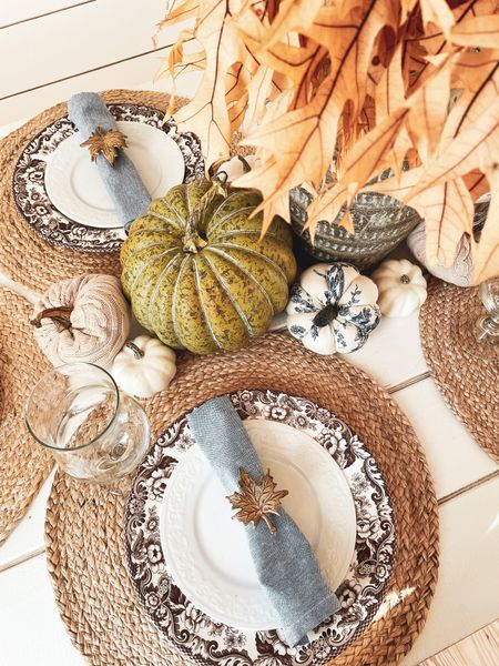 Finally decorating for fall & my heart is full 🤎🥧🍂 Have you decorated for fall yet?!   #LTKfamily #LTKSeasonal #LTKhome