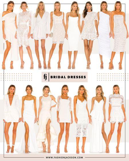 Fashion Jackson, white dress, wedding, bride, lace dress, bridal shower dress, rehearsal dinner dress, honeymoon, cocktail dress, bachelorette http://liketk.it/3dqRk #liketkit @liketoknow.it #LTKwedding #LTKstyletip