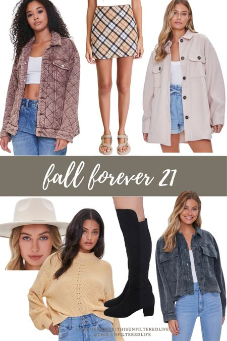 Tending fall outfits from forever 21 #forever21 #fallfinds #affordablefashion   #LTKstyletip #LTKunder50 #LTKSeasonal
