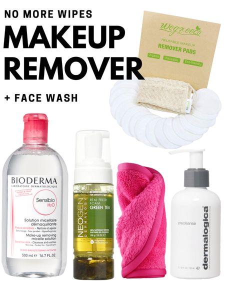 Makeup remover - stop using makeup wipes and use these instead - beauty/ skincare http://liketk.it/3eZ85 #liketkit @liketoknow.it   #LTKunder50 #LTKsalealert #LTKbeauty