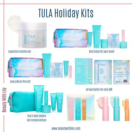 TULA Holiday Kits @liketoknow.it #liketkit #LTKbeauty #LTKunder100 http://liketk.it/30lu2