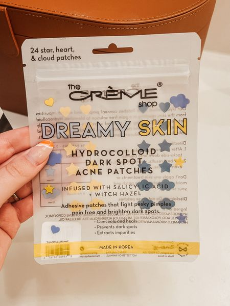 Ya girl is breaking out like crazy over here! I tried some pimple patches form the dollar tree but they didn't have any medication in them so I wanted to try these hydrocolloid dark spot acne patches. They have salicylic acid so hoping that does the trick! They're also super cute and in West Virginia colorshello  #LTKGiftGuide #LTKHoliday #LTKbeauty