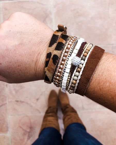 BOGO FREE bracelets this weekend! Plus Target boots and I'm ready for fall! Bots size up 1/2 for socks http://liketk.it/2FItN #liketkit @liketoknow.it #LTKsalealert #LTKstyletip #LTKunder50