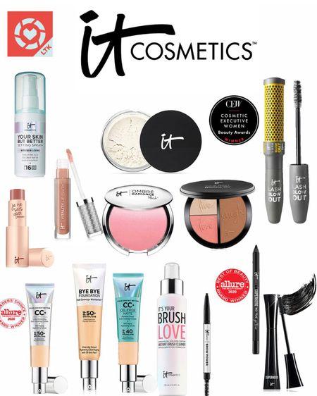 My favorite makeup from it's cosmetic!!  http://liketk.it/3hlAp @liketoknow.it #liketkit #LTKDay #LTKbeauty #LTKsalealert