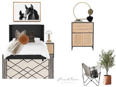 Modern + Minimal Bedroom Decor 👏🏻  #liketkit http://liketk.it/36j4p @liketoknow.it #LTKhome #LTKunder50 #LTKstyletip @liketoknow.it.home @liketoknow.it.family Shop my daily looks by following me on the LIKEtoKNOW.it shopping app 🤍  #bed #bedroomdecor #interiordesign #homedecor #photography #rugs