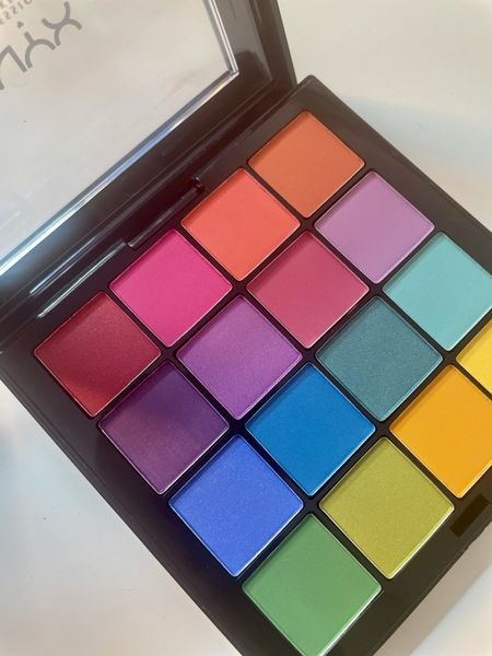 The NYX Cosmetics Ultimate Shadow palette is the perfect eyeshadow palette for Spring & Summer. So many colorful shadows 😍 I'm obsessed!   #LTKbeauty #LTKSeasonal #LTKunder50
