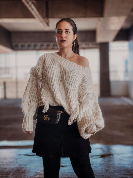 Oversized sweater and skirt - I'll take it! http://liketk.it/2InTV #liketkit @liketoknow.it #LTKholidaystyle
