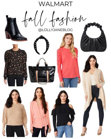 Walmart fall fashion! 💁♀️  Lolly Jane Blog | #LollyJaneBlog   #LTKSeasonal #LTKshoecrush #LTKstyletip