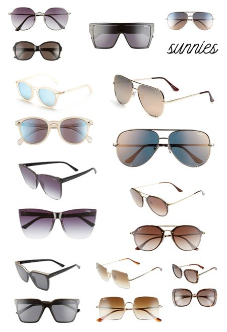 Sunglasses are the perfect accessory all year round. Here are some highs and lows - including Quays and Ray-Bans.   #LTKunder100 #LTKunder50 #LTKswim