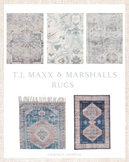 If you're on the hunt for neutral rugs, T.J. Maxx and Marshalls have some great ones right now, especially if you like the vintage look! There's also some beautiful blue rugs right now too!  - home decor, decor under 50, home decor under $50, fall decor, fall decorations, fall home decorations, coastal decor, beach house decor, beach decor, beach style, coastal home, coastal home decor, coastal decorating, coastal interiors, coastal house decor, home accessories decor, coastal accessories, beach style, blue and white home, blue and white decor, neutral home decor, neutral home, natural home decor, TJ Maxx finds, TJ Maxx home, marshalls home, marshalls finds, affordable rugs, vintage style rugs, 2x5 rugs, 2x7 rugs, neutral rugs, 7x10 rugs, 2x3 rugs, 3x5 rugs, 5x7 rugs, flat weave rugs, low pile rugs, blue coastal rugs, neutral coastal rugs, neutral runners, small runners, 2x5 runners, 2x7 runners  #LTKunder100 #LTKhome #LTKunder50