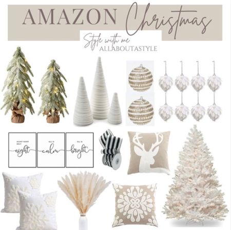 Amazon Christmas Decor   Follow my shop @allaboutastyle on the @shop.LTK app to shop this post and get my exclusive app-only content!  #liketkit #LTKHoliday #LTKGiftGuide #LTKSeasonal  @shop.ltk http://liketk.it/3qc8G  #LTKGiftGuide