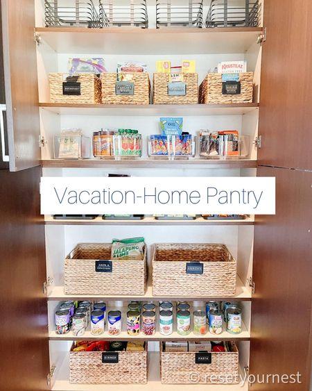 Shop this small, vacation-home Pantry look! #resetyournest http://liketk.it/3jUAx @liketoknow.it #liketkit #LTKhome #LTKfamily #LTKtravel @liketoknow.it.home @liketoknow.it.family #vacationhomeorganizing