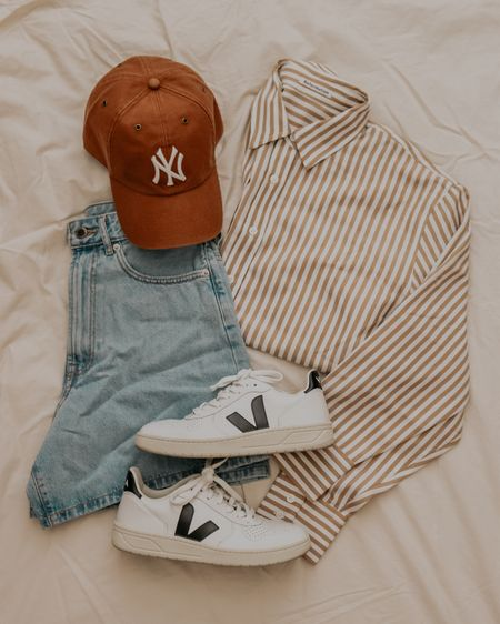 elevated + effortless everyday uniform ft. my favorite yankees hat 🤎   #LTKunder50 #LTKunder100 #LTKstyletip