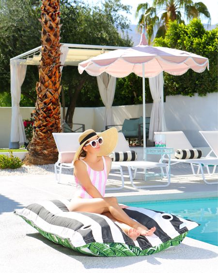 Because the only way to survive 120 degrees is with a pretty pink umbrella & a cute suit! Linked this umbrella & more faves below!   http://liketk.it/3hVCx #liketkit @liketoknow.it #LTKhome #LTKswim #LTKtravel @liketoknow.it.home  #onepiece #swimsuit #bathingsuit #patioumbrella #patiodecor