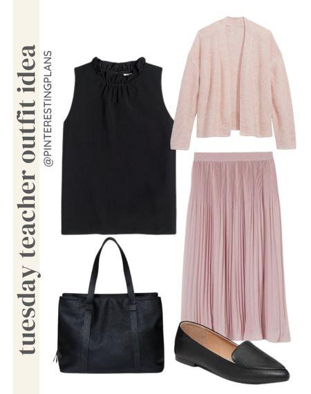 Tuesday teacher Outfit idea🙌🏻🙌🏻  #LTKshoecrush #LTKitbag #LTKstyletip