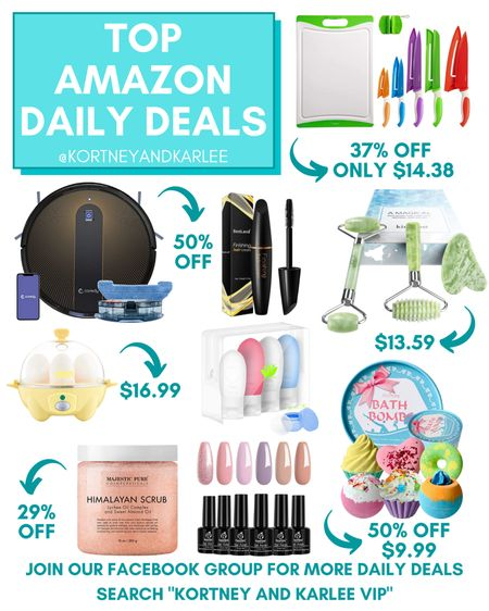 Amazon Deal of the Day Favorites!!!  Amazon daily deal   amazon deal   amazon beauty   amazon finds   amazon favorites   amazon lightening deal   Kortney and Karlee   #kortneyandkarlee #LTKunder50 #LTKunder100 #LTKsalealert #LTKstyletip #LTKSeasonal #LTKbeauty #LTKhome #LTKfit @liketoknow.it #liketkit http://liketk.it/3hZAZ