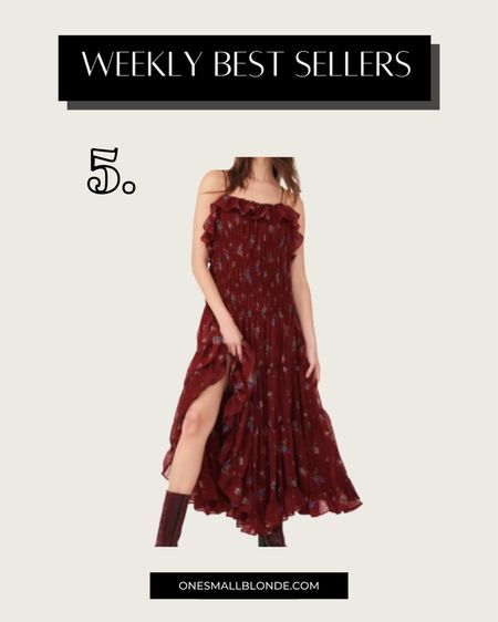 Gorgeous under $170 dress for fall! Would be perfect for a wedding guest dress   #LTKstyletip #LTKSeasonal #LTKwedding