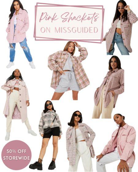 Pink Shackets on Missguided 50% off everything! Shackets | pink | fall shackets | shackets finds | plaid pattern | early gifting | sale | fall season | fall fashion | fashion finds | sale alert | gift finds | #melisvida #ltkholiday #ltkcurves #ltkaustralia #ltkbrasil #ltkeurope #ltkfamily #ltkstyletip #ltkunder50 #ltkunder100  #LTKSale #LTKSeasonal #LTKGiftGuide
