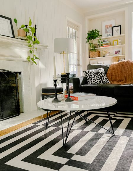 New rug really makes the room pop! Love these washable ones!   #LTKhome #LTKstyletip