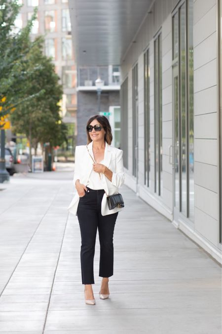 The all important blazer can be worn most seasons and can be worn with everything from sneakers all the way to booties!   #LTKworkwear #LTKstyletip #LTKSeasonal