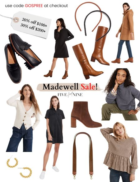 Madewell spend more, save more event! Lots of boots, sweaters and more on sale. Sharing a few of my favorite items here!   #LTKSeasonal #LTKsalealert