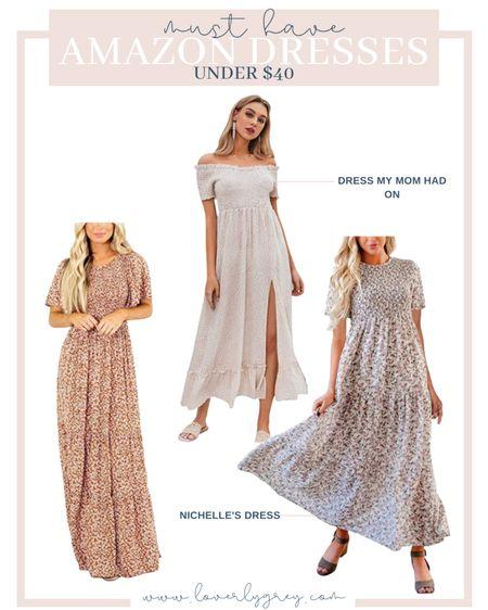 Must have amazon dresses for summer! All three are under $40!   #LTKunder50 #LTKwedding #LTKstyletip