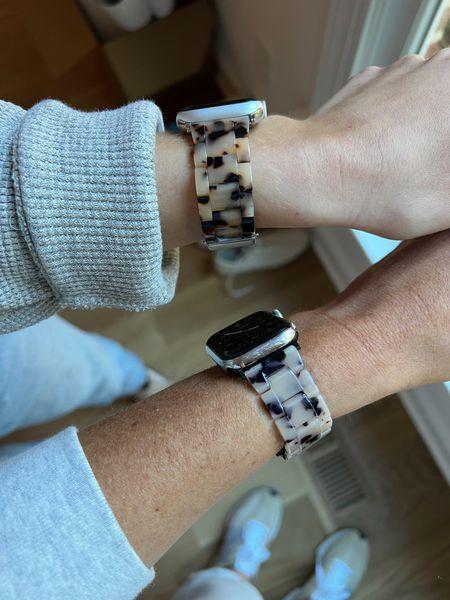 Tortoise Apple Watch Band, Machete, Amazon Find, Dupe, Save vs Splurge  #LTKGiftGuide #LTKstyletip