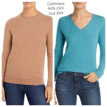 I just bought this camel sweater! Luxurious cashmere for under $100!! Crewneck + v-neck (in many colors and fully stocked sizes) all 44% OFF!! They are classic staples in every classy woman's wardrobe and make the perfect gift also. 🎄 🎁 Download the @liketoknow.it shopping app to shop this pic via screenshot. You'll find me under 'TheClassyWoman' #liketkit http://liketk.it/30pm2  #giftguide #cashmere #sweaterweather #luxury #classywoman #classicstyle #ladylike #elegant #timeless #classic #LTKunder100