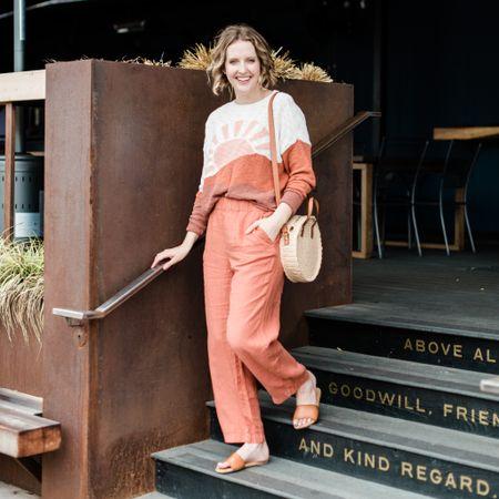 Outfit 30% off! http://liketk.it/3gOwR #liketkit @liketoknow.it #LTKtravel #LTKunder50 #LTKsalealert #loft #casualstyle #travelstyle #linen