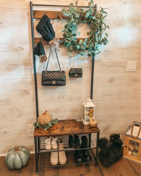 Target home. Target finds. Target style. Mommy and me matching. Entry way decor. Hall tree. Chanel. Toddler purse. Pumpkin decor. Pumpkins. Fall decor. Fall shoes. Combat boots. Fall wreath. Home decor. Eucalyptus decor. Amazon finds.   #LTKshoecrush #LTKhome #LTKSeasonal