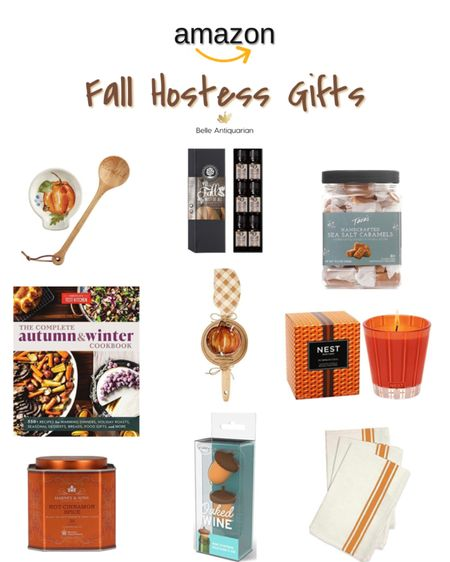 Fall hostess gift ideas! All under $50, and most are around $10.  #LTKfamily #LTKGiftGuide #LTKunder50