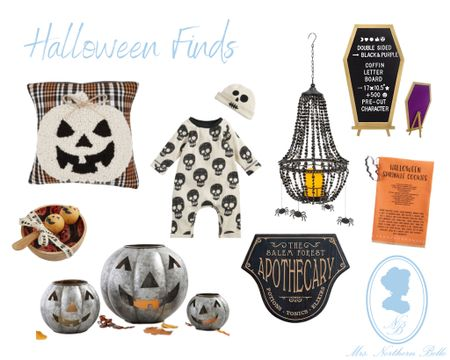 August is here & that basically means it's almost Halloween 🎃 🤣🙃 - kidding 😅 … kinda 👀😶 //Shop some of these cool finds I put together before the season hits & they sell out! 👻 #LTKHalloween #LTKFall   #LTKbaby