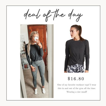 One of my favorite Old Navy activewear tops is on major sale today! Lots of sizes and colors in stock 🙌    #LTKsalealert #LTKunder50 #LTKfit