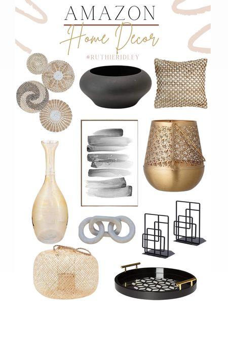 Amazon Home Decor🙌🏾🙌🏾  AmaZon Home Decor Home Accents living room decor living room design living room accents vases book ends artwork pillow throw Decorative bowl trays  #LTKSeasonal #LTKhome #LTKstyletip
