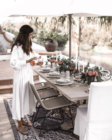 Sharing my 6 TIPS for summer entertaining on my ig stories today.  Also sharing details on all these stunning pieces from @mackenziechilds.    To get the links for my home decor...go to my Instagram stories & swipe up. You can also go to www.Stylin.me #ad #mackenziechilds #liketkit @liketoknow.it http://liketk.it/3ieVE
