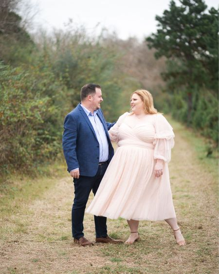 Engagement photos are a fun way to get to know your wedding photographer, but a lot of times what to wear to them can cause some stress. I've rounded up some of my favorite romantic dresses with bridal vibes from ELOQUII! http://liketk.it/36R2k #liketkit @liketoknow.it #LTKcurves #LTKstyletip