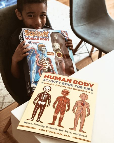 Huge thank you to our sweet friend @themomfluence for the coolest kids anatomy book and human body squishy!  The boys are loving learning all about the human body and dissecting their anatomy figure.    http://liketk.it/37u6k #liketkit @liketoknow.it #LTKkids #LTKfamily #LTKunder50 #ltklearning #educational #amazonfind #amazonfinds #kids #educationalbooks #booksforkids #prek #kimdergarten @liketoknow.it.family Shop your screenshot of this pic with the LIKEtoKNOW.it shopping app
